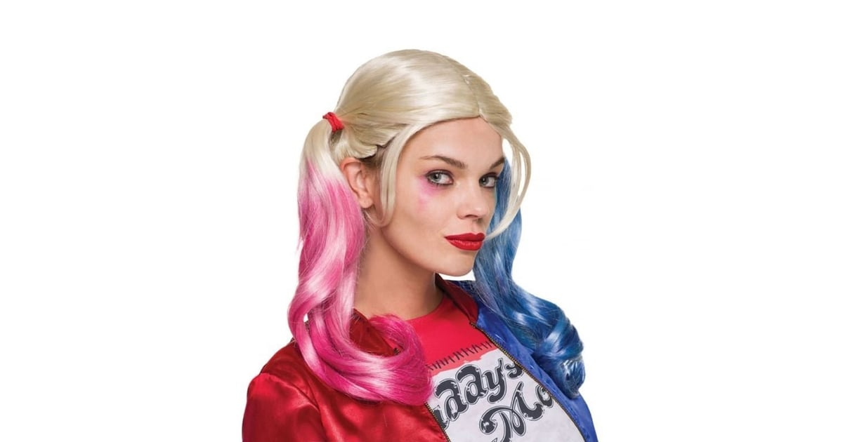 15565cac0d11f Harley Quinn Pink Blue Wig ($25)   Top Selling Costumes on eBay of 2016    POPSUGAR Smart Living Photo 4