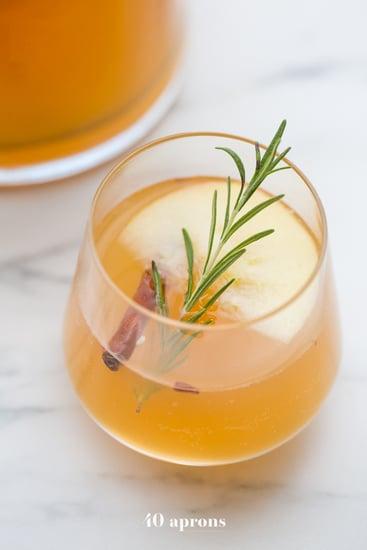 Cinnamon Apple Cider Mimosa