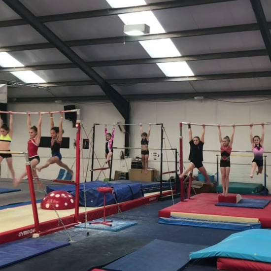 Gymnastics Bar Workout Baby Shark