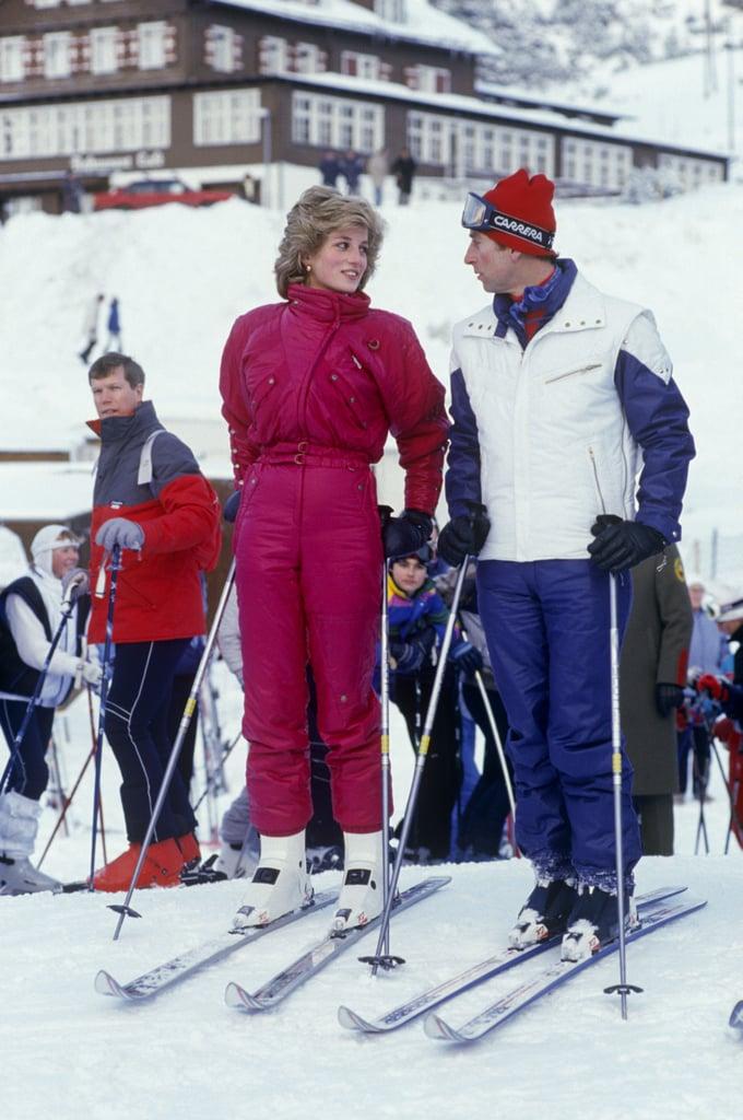 The duo kicked off a ski holiday in Vaduz, Liechtenstein, in 1985.