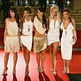 White Hot at the 2005 BRIT Awards