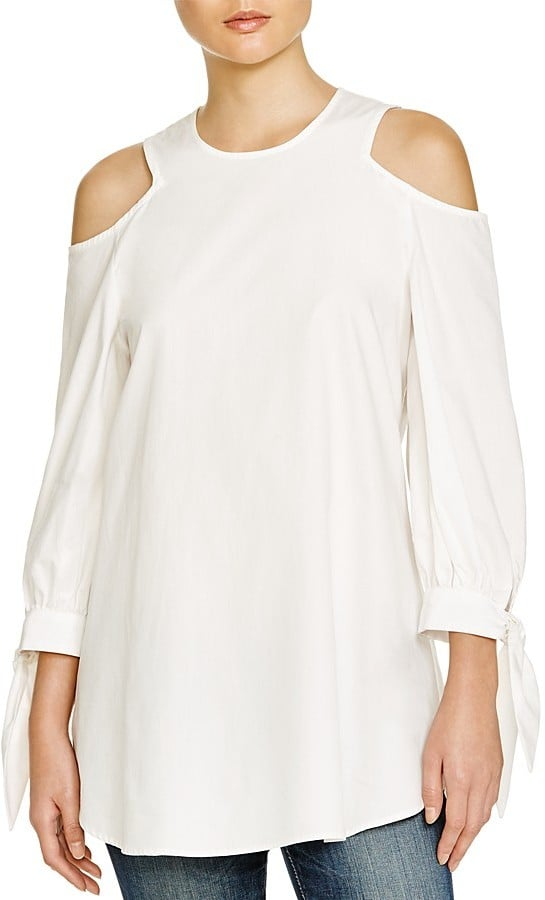 Timo Weiland Cold Shoulder Tunic ($295)