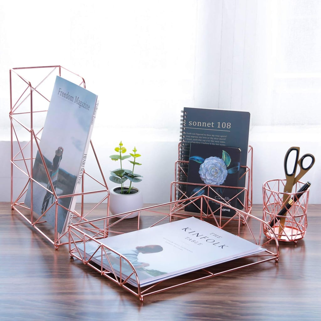 Simmer Stone Rose Gold Office Supplies