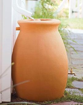 Rain Catcher Urn 45 Gallon, rain barrel ($149)