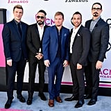 The Backstreet Boys Mean Business on the ACM Awards Red Carpet