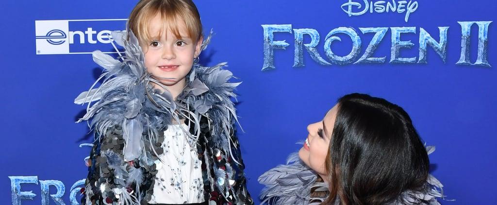 Selena Gomez Gave Her Sister Advice Before Frozen 2 Premiere