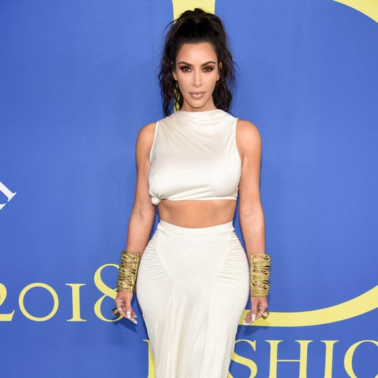 Kim Kardashian's Outfit at CFDA Awards 2018