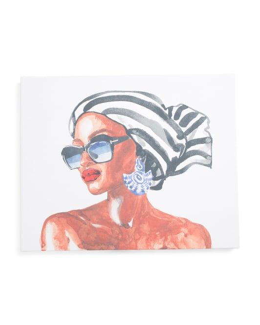 Mother Beauty Canvas Wall Art