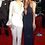 Courteney and Jennifer walked the red carpet together at the SAGs in 2003.