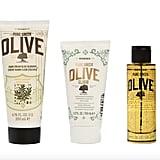 Korres 3-Piece Greek Olive Oil and Blossom Set