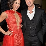 Paula Patton and Robin Thicke attended the event together, dispelling rumors about trouble in paradise.