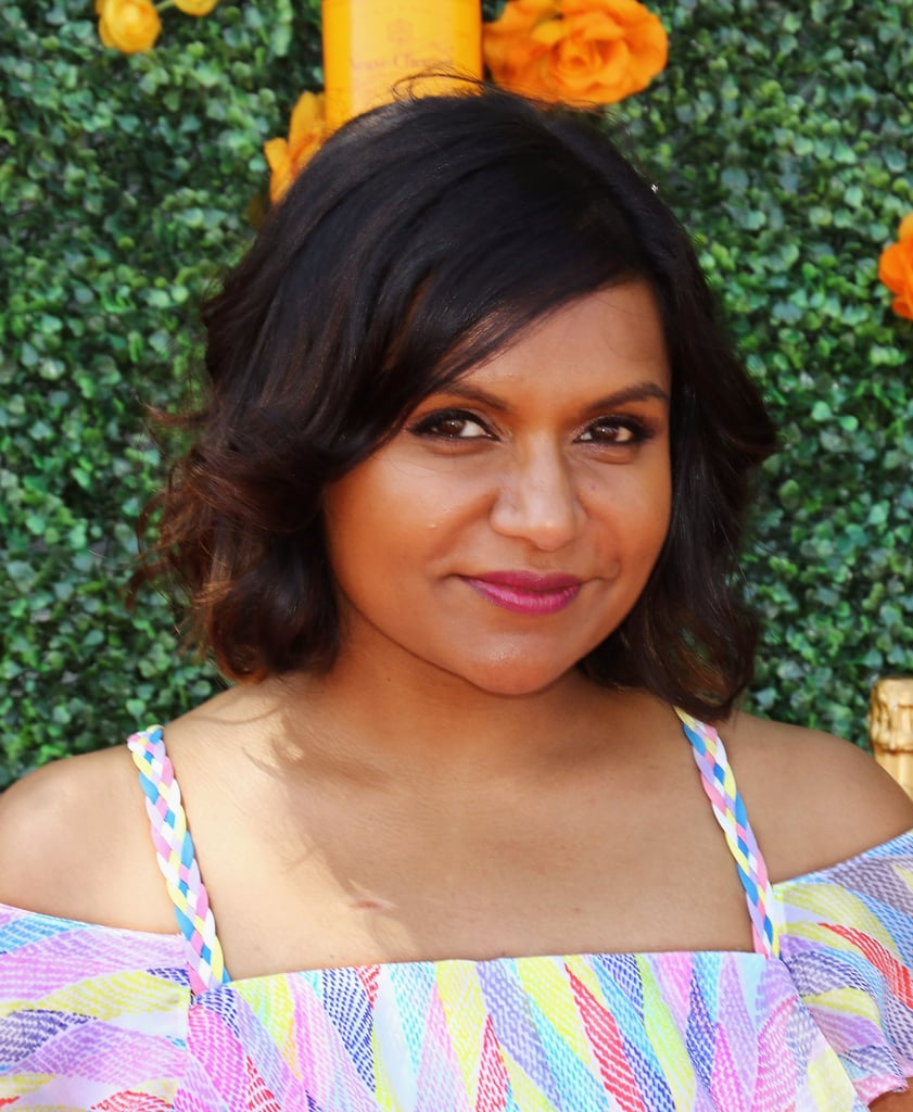 Mindy Kaling With Short Hair 2015 Popsugar Beauty
