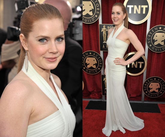 Amy Adams in Hervé Leroux at SAG Awards 2011