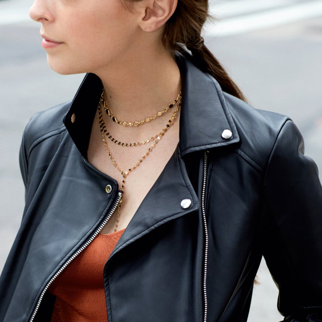 BaubleBar Aimee Layered Y Chain Necklace 3rAyTekH