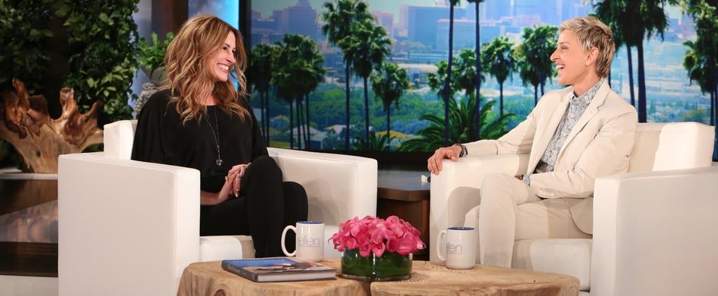 Julia Roberts Talks About What It's Really Like Going on Stage With Taylor Swift
