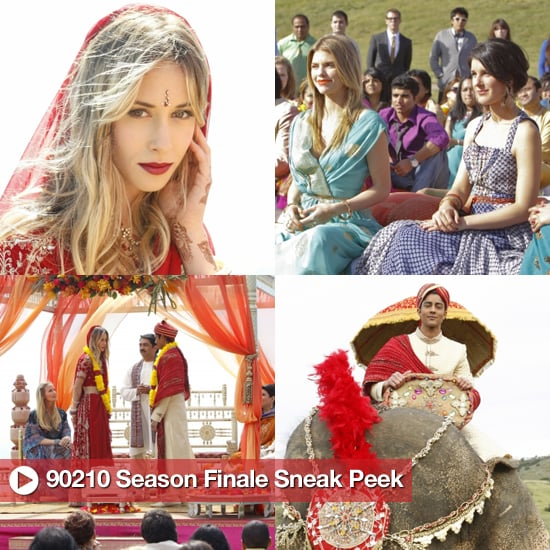 90210 Pictures of Ivy's Wedding on the Season Finale