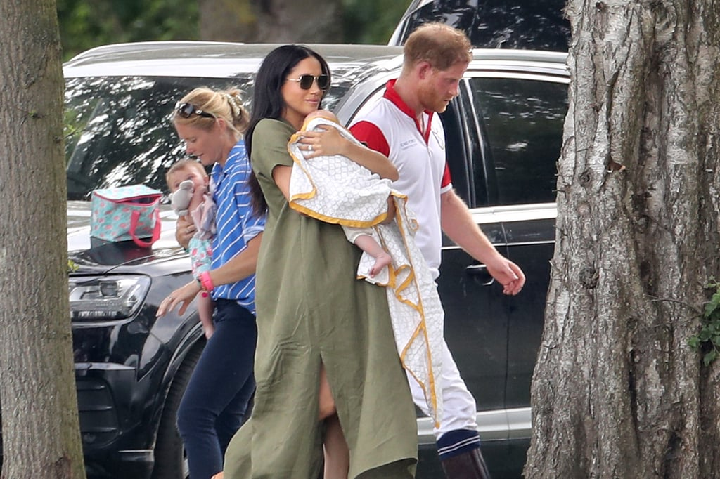 Meghan Markle, Prince Harry, and Baby Archie Polo Match 2019