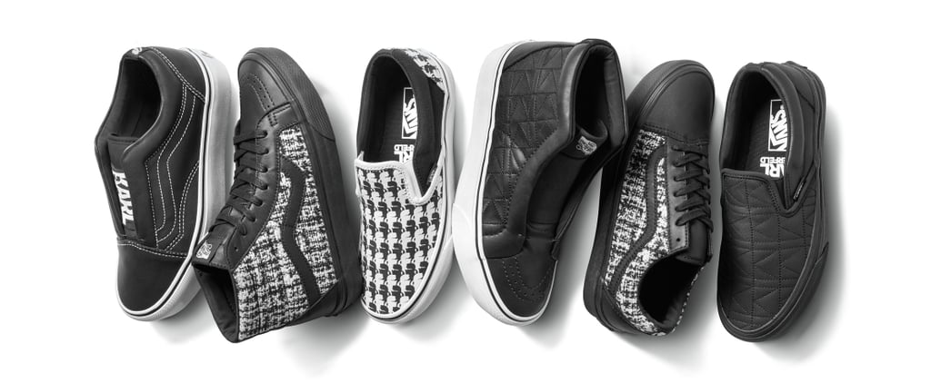 Karl Lagerfeld Has Unveiled His Signature Vans, and OMG