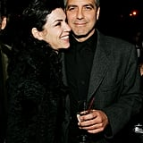 Former ER costars George Clooney and Julianna Margulies hung out at a New York Public Library event in November 2005.