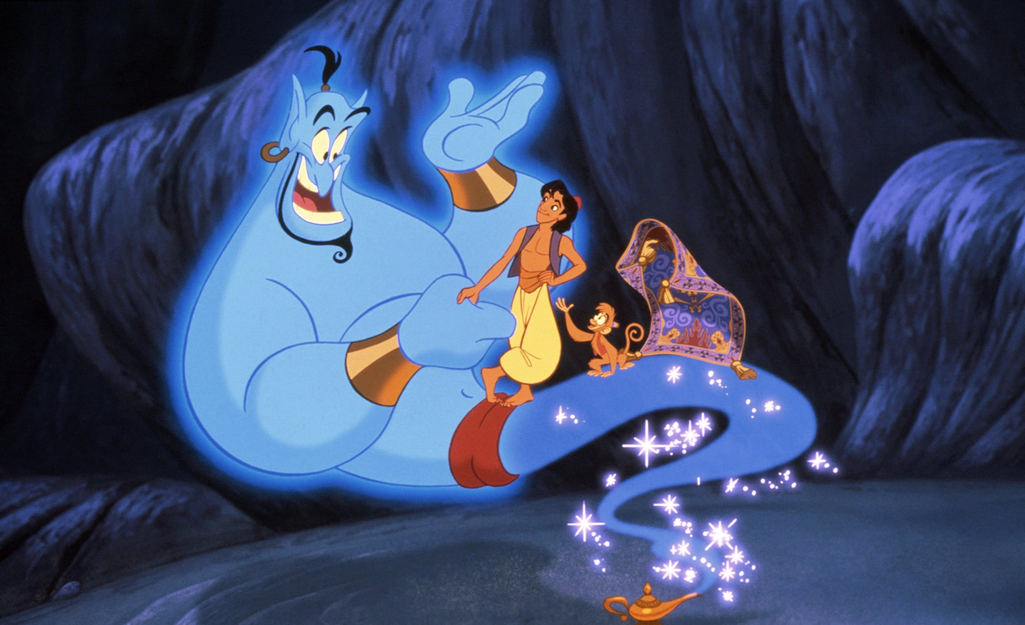 Aladdin Theory About the Genie and the Peddler | POPSUGAR ... for Aladdin All Characters  110zmd