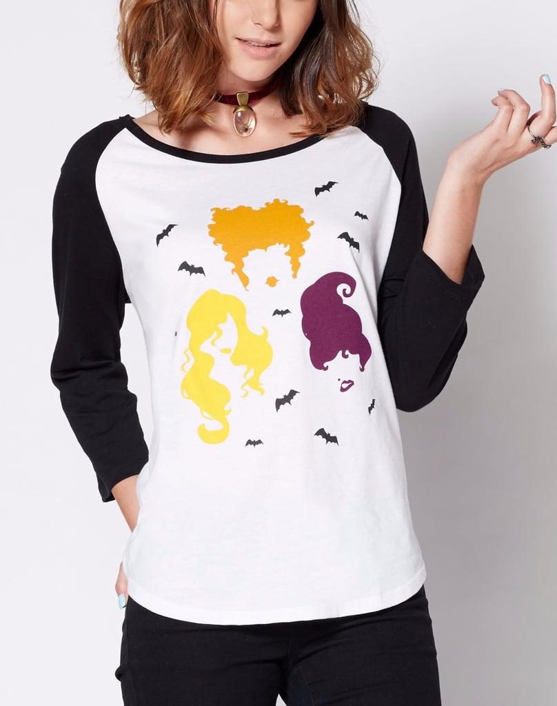 Sanderson Sisters Raglan T-Shirt ($20)