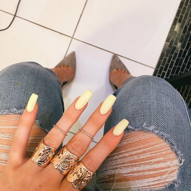 Kylie Jenners Nails Popsugar Beauty Photo 3