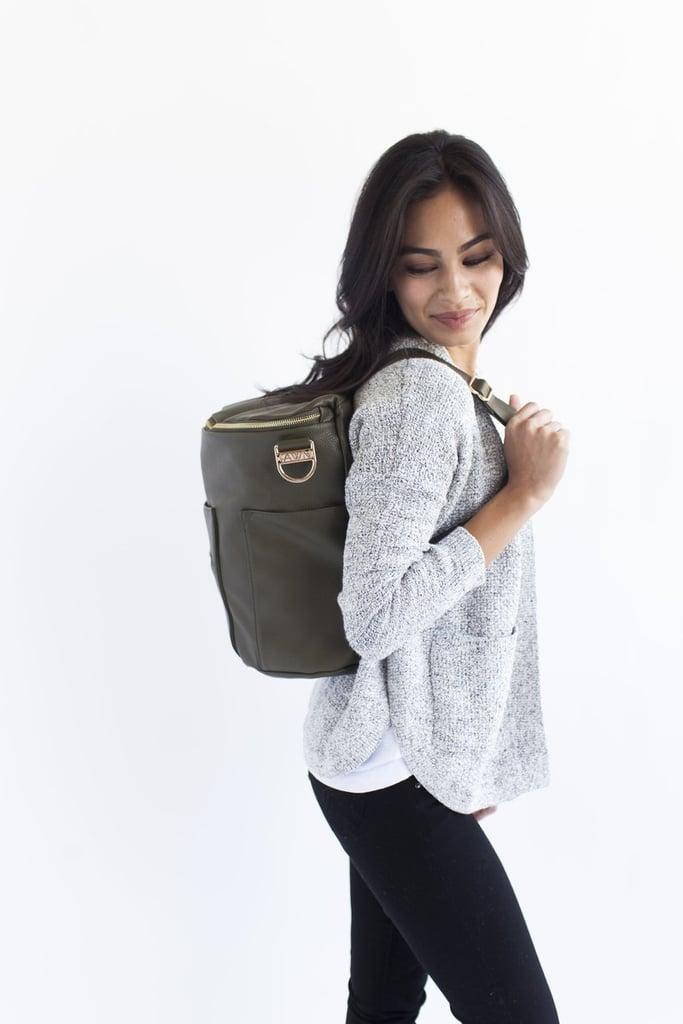 Fawn Design Diaper Bag in Olive