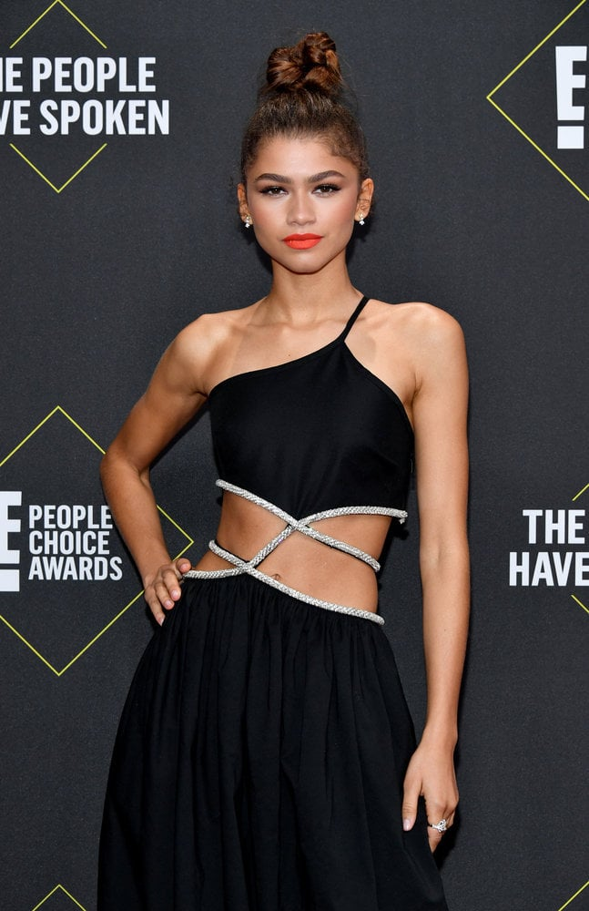 Zendaya at the 2019 People's Choice Awards