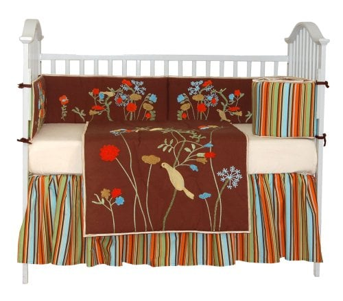 Tadpoles Birds of Paradise Six-Piece Crib Set ($239)