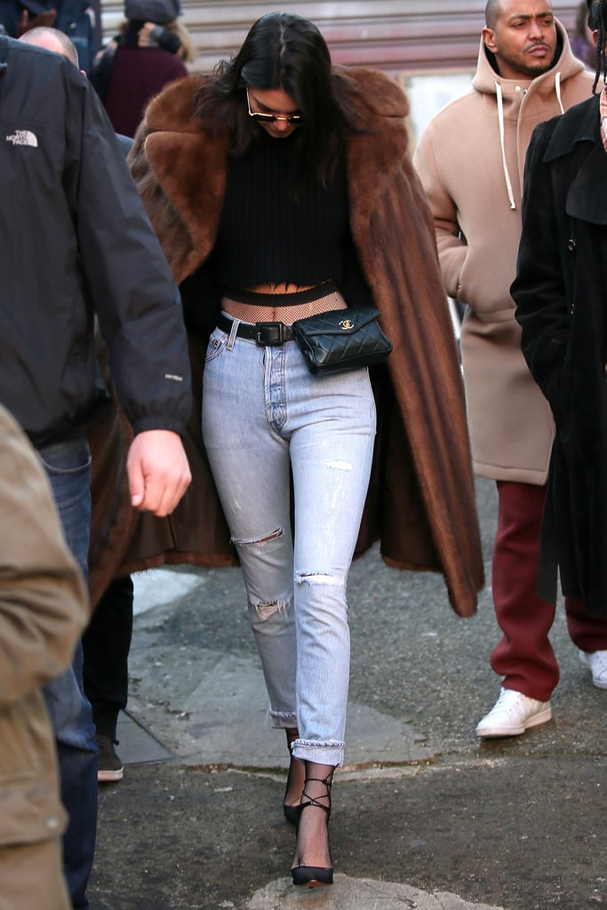 Kendall Jenner's Denim Trick Will Take You Right Back to the '80s