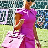 With the Hot-Pink Roland Mouret Dress She Made Famous