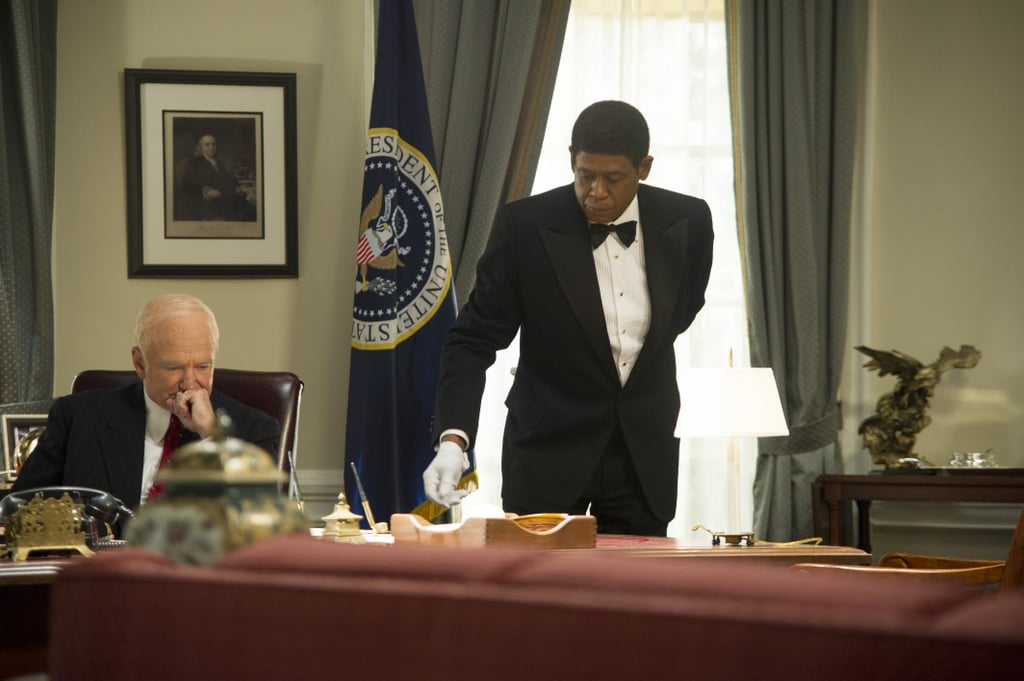 Robin Williams as Dwight D. Eisenhower and Forest Whitaker as Cecil Gaines in Lee Daniels' The Butler.