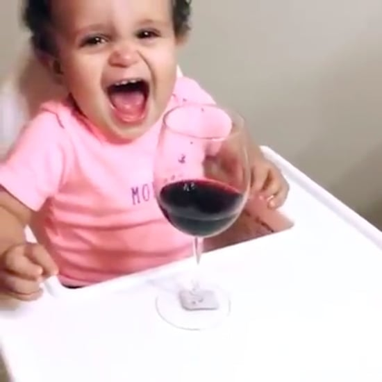 Baby Only Stops Crying For Wine Video
