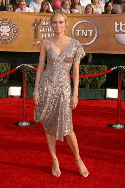 Diane Kruger at the SAG Awards in 2007