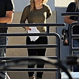 Kristen Bell got back to work on the Veronica Mars movie in Los Angeles on Wednesday.