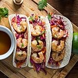 Chipotle Lemongrass Maple Shrimp Tacos