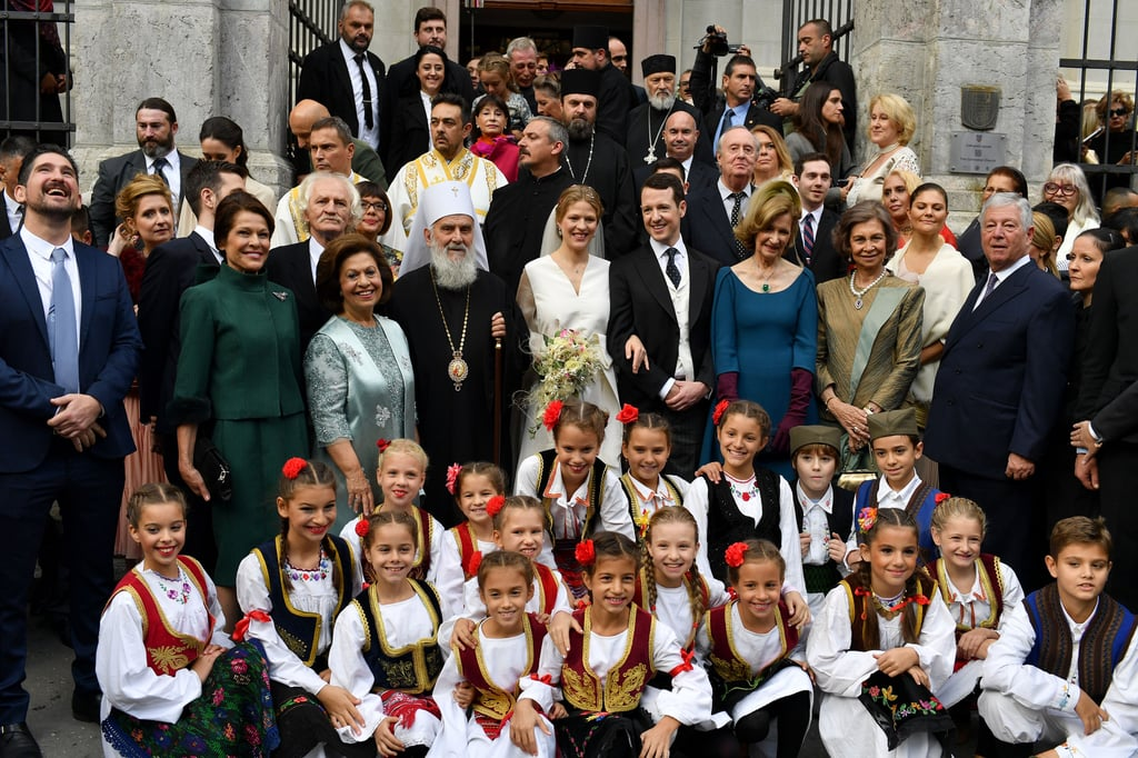 The Ceremony Took Place at Saborna Church in Belgrade, Serbia