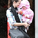 Pictures of Jennifer Garner Catching Up With a Friend in LA