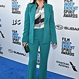 Marcia Gay Harden at the 2019 Independent Spirit Awards