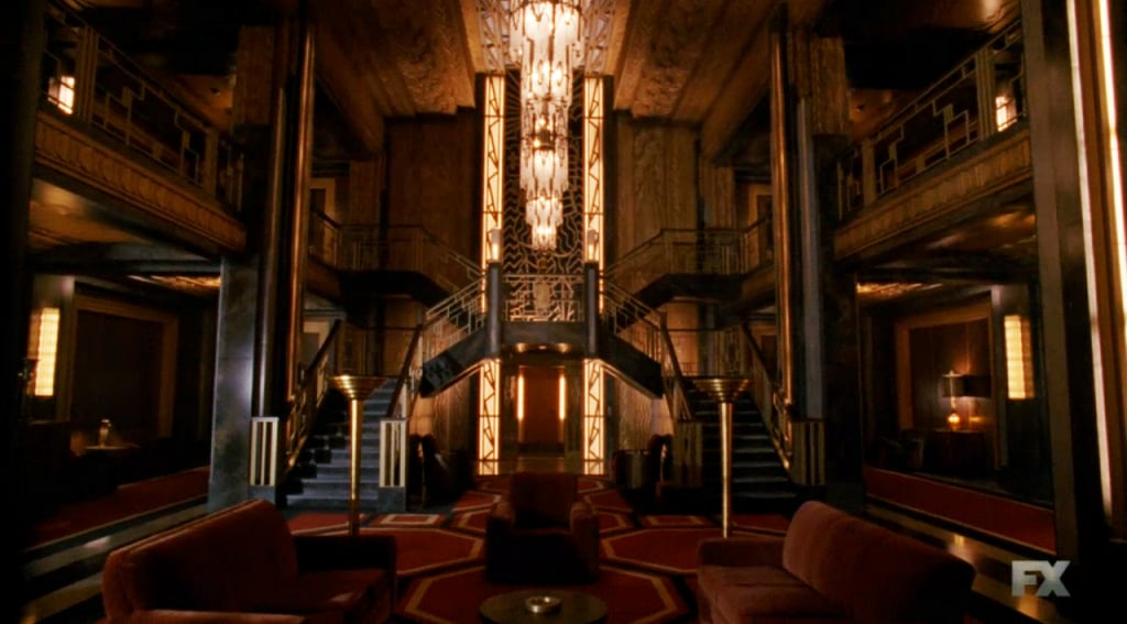 A Noted Focus On Symmetry On Ahs Hotel References To