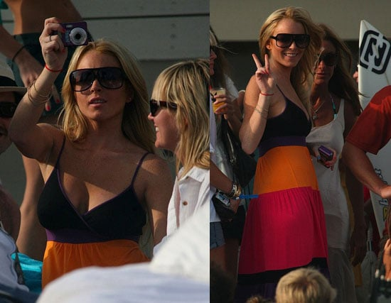 Lindsay Dances Her Way Into Another Movie
