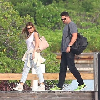 Sofia Vergara and Joe Manganiello Leaving Honeymoon
