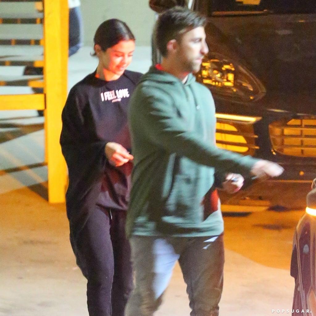 Selena Gomez's Givenchy I Feel Love T-Shirt