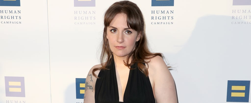 Lena Dunham Had the Best Response to Red Carpet Criticism