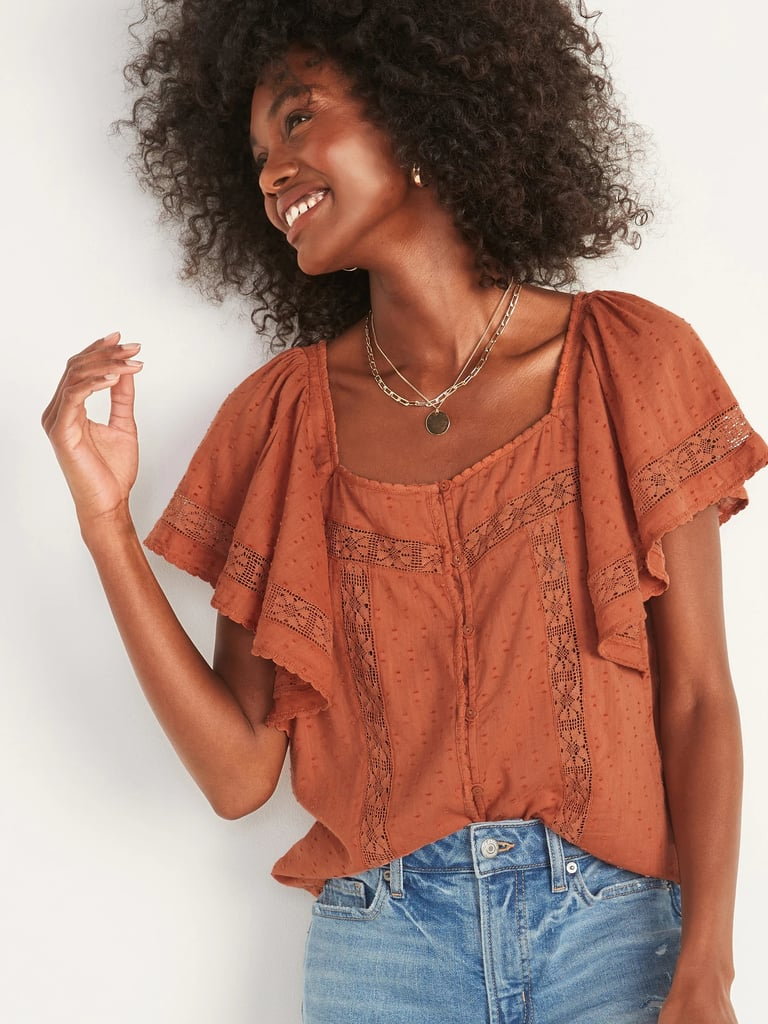 Best Blouses From Old Navy   2021