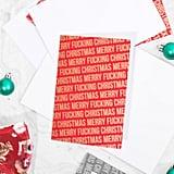 Abusive Christmas Card