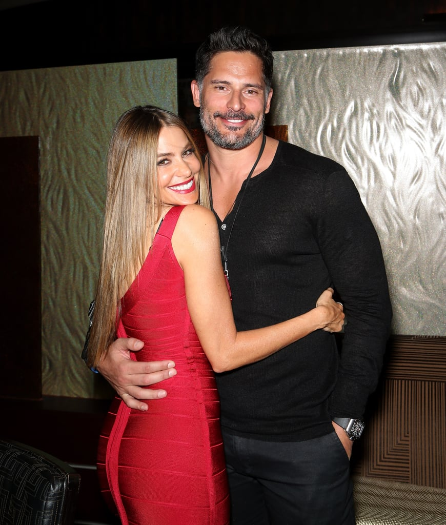 """The beginning: Reports surfaced of a Summer romance between Sofia and Joe in July 2014 after the duo was spotted on a date in Louisiana over the Fourth of July weekend.  The proposal: During a guest appearance on Live With Kelly and Michael, Joe disclosed that he proposed to Sofia after six months of dating during a family vacation in Hawaii, saying, """"You are my everything"""" in Spanish.  The ring: Shortly after, Sofia touched down in LA sporting a massive engagement ring."""