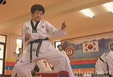 Taekwondo Grannies Will Kick Your Ass