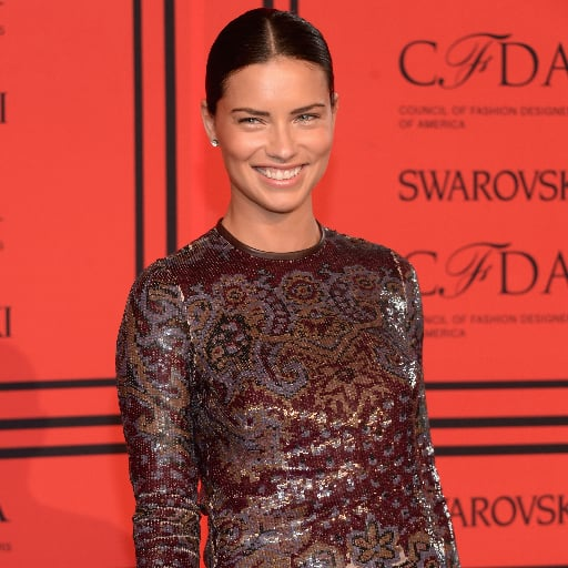 Adriana Lima Dress at CFDA Awards 2013