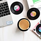 Vinyl Record Disk Drink Coasters